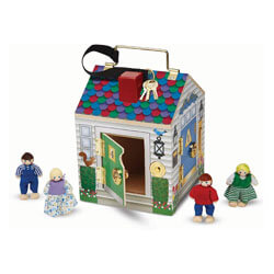 Melissa and Doug Doorbell Dollhouse
