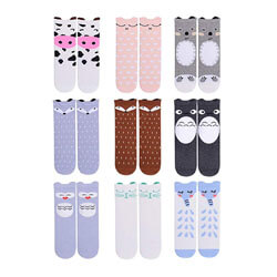 Gellwhu Baby Girls Socks Knee High Socks