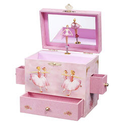 Enchantmints Ballerina Musical Jewelry Box, Toys for 5 Year Old Girls