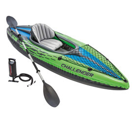 Intex Challenger K1 Kayak, Intex Challenger Inflatable Kayak Set