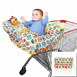 Croc n frog​ Shopping Cart Covers for Baby