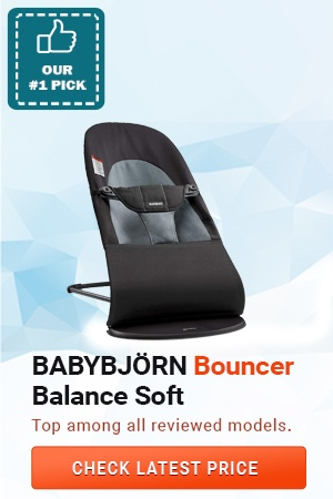 BABYBJORN Bouncer Balance Soft, Best Baby Bouncers