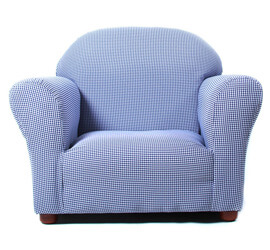 Keet Roundy Kid's Chair Gingham