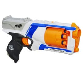 Nerf N Strike Elite Strongarm Toy Blaster, Gifts for 12 Year Old Boys