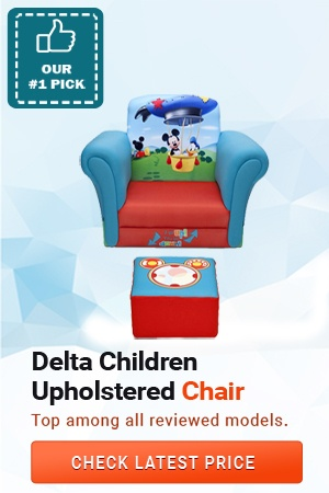 Delta Children Upholstered Chair, Best Toddler Chairs