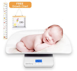 Unicherry Multi-Function Digital Baby Scale
