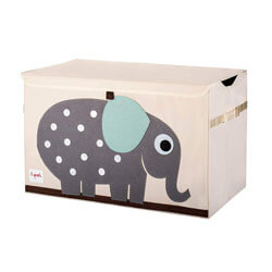 Sprouts Kids Toy Chest, Storage Trunk for Boys and Girls Room