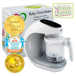 Baby Food Processor Blender Grinder Steamer