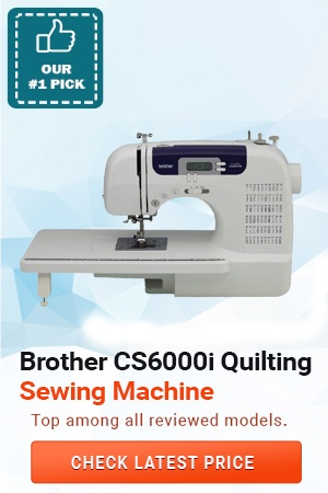 Brother CS6000i Quilting Machine, Heavy Duty Sewing Machines