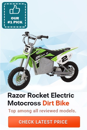Razor Rocket Electric Motocross Dirt Bike