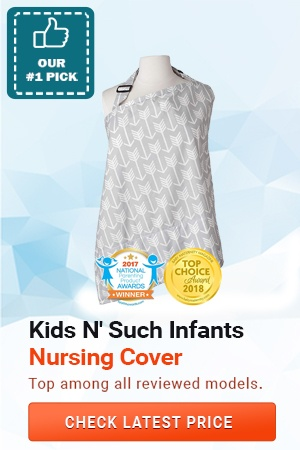 Kids N' Such Nursing Cover