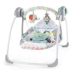 Bright Starts Wild Portable Automatic Swing