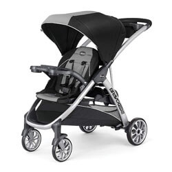 Chicco BravoFor2 Standing and Sitting Double Stroller