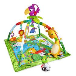 Fisher-Price Rainforest Music & Lights Deluxe Gym