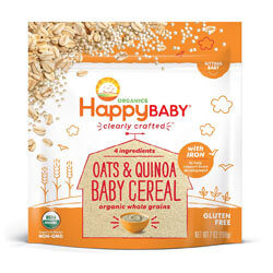 Happy Baby Organic Clearly Crafted Cereal