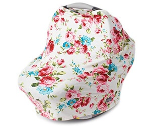 Kids N' Such Floral Pattern Canopy Cover