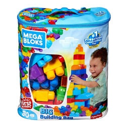 The Classic Building Bag by Mega Bloks