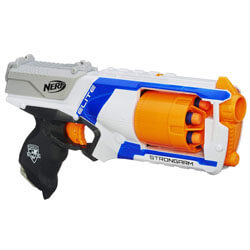 Nerf N Strike Elite Strongarm Toy Blaster with Rotating Barrel