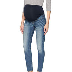 Signature Women's Maternity Skinny Jeans