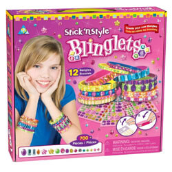 Stick N' Style Blinglets, Gift for 10 Year Old Girls