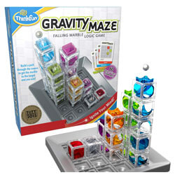 ThinkFun Gravity Maze Marble Run Brain Game and STEM Toy