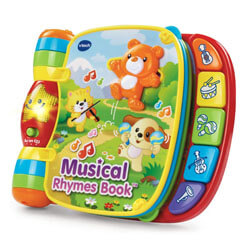 The Music Rhyming Book by VTech