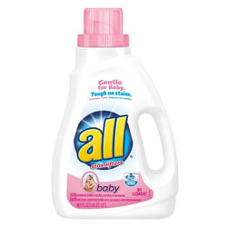 all Baby Liquid Laundry Detergent
