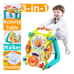 iPlay, iLearn Baby Sit to Stand Walker