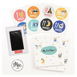 Mae KIDS First 5 Years Baby Memory Book