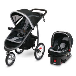 graco fastaction fold travel system, top jogger stroller