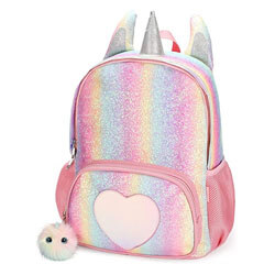 Mibasies Kids Unicorn Backpack, top kids backpacks