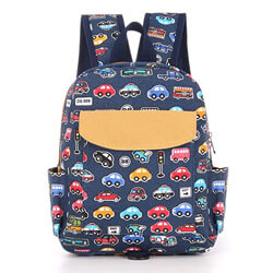 Willikiva Cute Bus Toddler Backpack, kids backpack