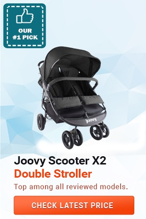 Joovy Scooter X2 8077 Double Stroller